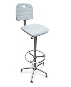Cadeiras Ergonômicas – Estrutura em Aço Inox AISI 304, assento e encosto em poliuretano modelo WDA