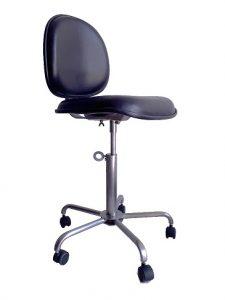 Cadeiras Ergonômicas – Estrutura em Aço Inox AISI 304, assento e encosto em Espuma Revestida