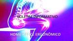 BOLETIM INFORMATIVO – HOME OFFICE ERGONOMICO – Ergonomia é Saúde